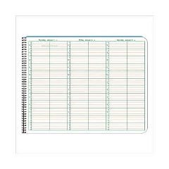 "Patterson Office Supplies 2017 Appointment Books - 8.5"" x 11"" - 15 minute intervals"