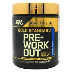 Optimum Nutrition Gold Standard Pre-Workout - Blueberry Lemonade
