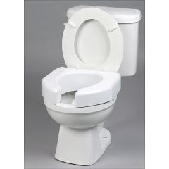 Ableware Basic Open Front Raised Elevated Toilet Seat