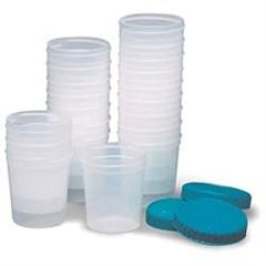 Insource Inc. Specimen Cups With Lids 4 Oz, 20/Pkg