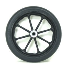 "New Solutions 8"" x 1"" Caster Wheel 2 1/8"" Hub With 7/16"" Bearings"