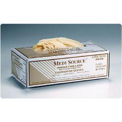 Medi Source Powder-Free Latex Exam Gloves