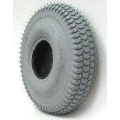 New Solutions Gray Pneumatic Knobby Tire - 12 x 300-4