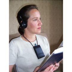 Oval Window Audio Oval Window Induction Loop Receiver with Headphones