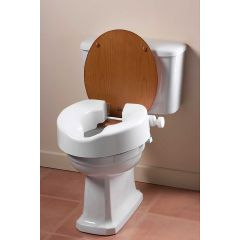 ADL Essentials Unifix Raised Toilet Seat - Easy Install