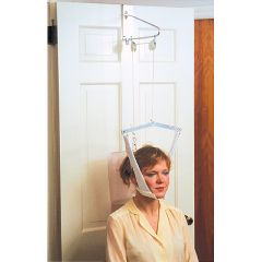 FabTrac Economy Over Door Cervical Traction With Head Halter