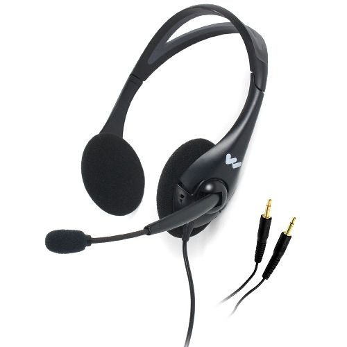 Williams Sound Dual Headset with Noise Cancelling Mic Model 083 586176 01