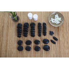 The Original Stones Stone Massage 50 Piece Set with DVD & 6 Quart Warmer
