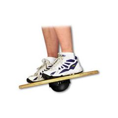 Fitball Fitter Wobble Board - Wood