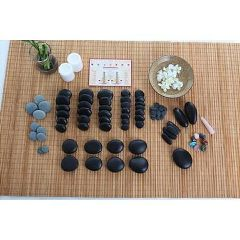 The Original Stones Stone Massage 82 Piece Set With DVD