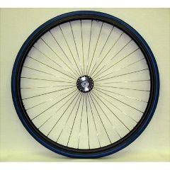 """New Solutions 26 x 1"""" Metal Spoke Wheel - 3"""" Hub"""