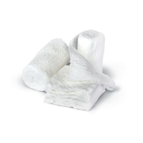 Medline Bulkee II Sterile Cotton Gauze Bandage, 6-ply