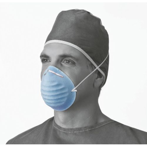 Medline Surgical Cone-Style Face Mask Model 732 574561 01