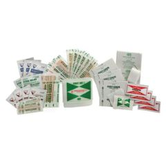 Complete Medical Supplies Compact First Aid Kit for Travel