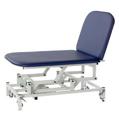 """Fabrication Treatment Table - Electric Hi-Low, 77"""" L X 42"""" W X 18-37"""" H, 2-Section Bobath Table"""