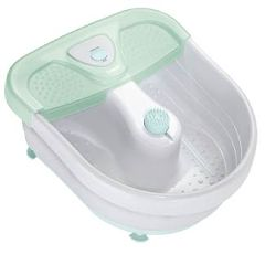 Foot Bath with Heat, Bubbles & 3 Attachments
