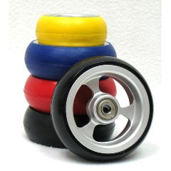 "New Solutions Soft Roll Casters - 3"" x 1 1/2"""