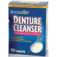 Freshmint Denture Cleaner Tablets