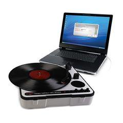 ION Portable USB Turntable