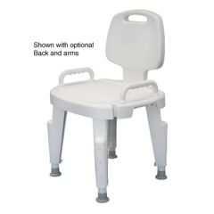 Bath Safe Height Adjustable Shower Chair