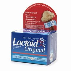 Lactaid Original Caplets - 120ct, Enzyme Supplement