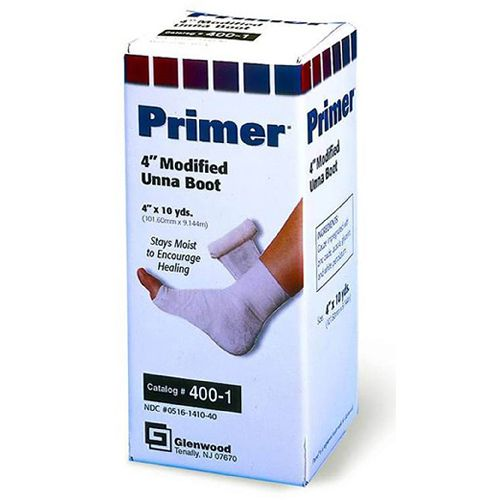 Western Medical Primer Modified Unna Boot Dressing w/ Calamine - 4 x 10 yds