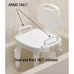 Replacement Arms for Bath Safe Adjustable Shower Seat