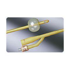 Bardex Silicone Elastomer Coated Latex Foley Catheter - 2-Way, 5cc