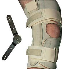 Swede-O Range Of Motion Hinged Knee Wrap, Open Popliteal