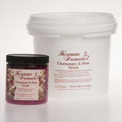 Keyano Aromatics Keyano Champagne & Rose Scrub