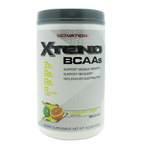 Scivation Xtend - Lemon Lime Sour