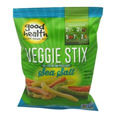 Good Health Veggie Stix - Sea Salt