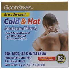 GoodSense Cold & Hot Medicated Patch