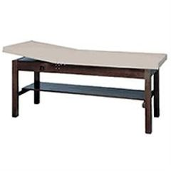 Bailey Manufacturing Treatment Table With Adjustable Back & Shelf