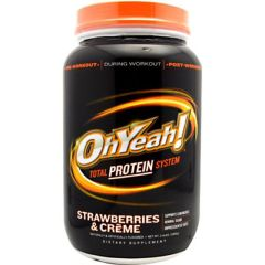 ScripHessco ISS OhYeah! Protein Powder - Strawberries & Creme