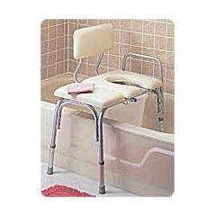 Vinyl-Padded Bathtub Transfer Benches