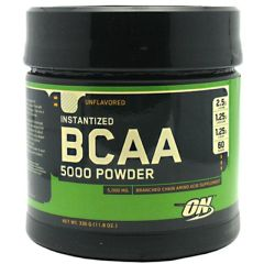 Optimum Nutrition Instantized BCAA 5000 Powder - Unflavored