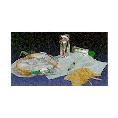 BARDIA Universal Insertion Tray without Catheter - 10cc, PVP Swabs, Drain Bag