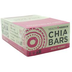 Health Warrior Chia Bar - Acai Berry