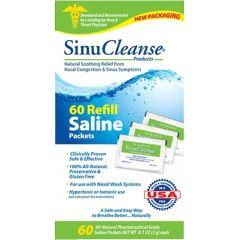 SinuCleanse Saline Packets Refills Nasal Wash