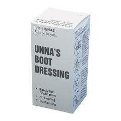 AliMed Unna's Boot Dressing (Generic) Bandage - 10 yds/rl, 12 rl/cs
