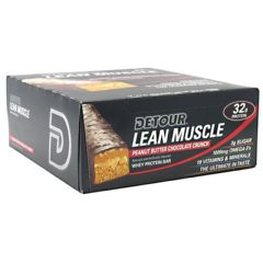 Detour Forward Foods Detour Lean Muscle Whey Protein Bar - Peanut Butter Chocolate Crunch