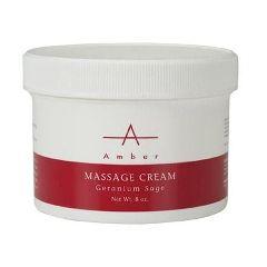 Amber Geranium Sage Massage Cream