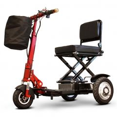 E Wheels EW-01 Portable 3 Wheel Folding High Speed Travel Scooter