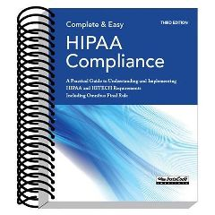 Chirocode Institute Complete & Easy HIPAA Compliance Book- 3rd Edition
