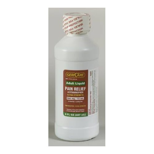 McKesson Acetaminophen Liquid 500MG 8oz compares to Tylenol Liquid Model 173 0048