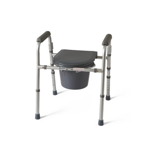 Medline Folding 3-In-1 Commode