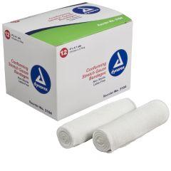 Dynarex Stretch Gauze Bandage Rolls - Self adhering - Latex-Free