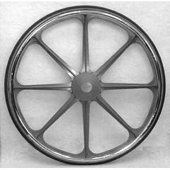 "24 x 1"" Bariatric Economy Mag Wheels"