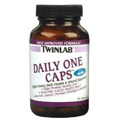 Twin Laboratories Daily One Caps with Iron